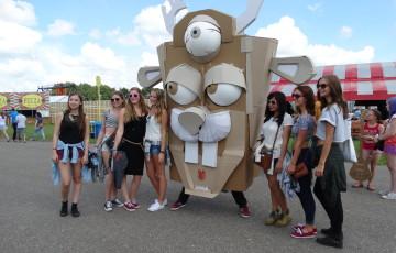 cardboarders lowlands 2014