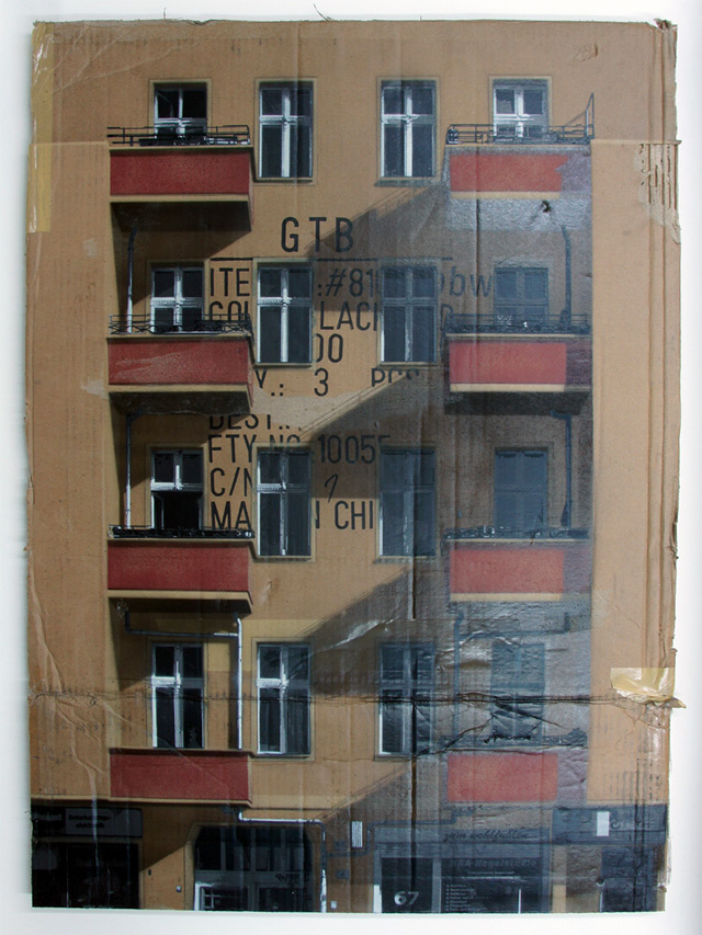 German Urban Cardboard Art | The Arts Board of Cardboard